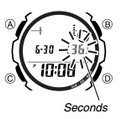 How to set time on Casio AQW-101
