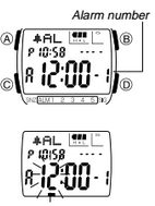 How to set alarm on Casio DB-E30