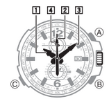How to set time on Casio G-Shock GW-A1100