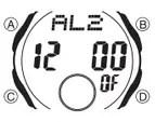 How to set alarm on Casio AQ-160