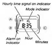 How to set alarm on Casio F-105