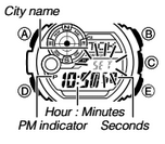 How to set time on Casio G-Shock G-9300
