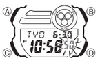 How to set time on Casio G-Shock GD-400