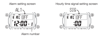 How to set alarm on Casio G-Shock GB-5600