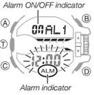 How to set alarm on Casio G-Shock GA-400