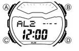 How to set alarm on Casio G-Shock GD-X6900