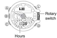 How to set time on Casio G-Shock GBA-400