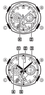 How to set time on Casio Edifice EQW-M1000
