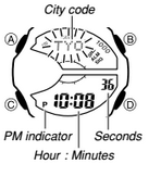 How to set time on Casio Edifice EFA-133