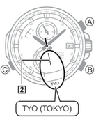 How to set time on Casio Edifice EQW-A1400