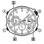 How to set alarm on Casio Edifice EQW-M600
