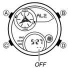 How to set alarm on Casio Edifice EMA-100