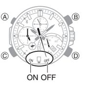 How to set alarm on Casio Edifice EQB-500