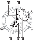 How to set alarm on Casio Edifice EQW-A1400
