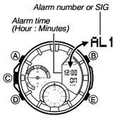 How to set alarm on Casio Edifice ERA-300