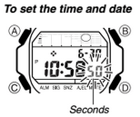 How to set time on Casio G-Shock GLX-5600