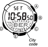 How to set time on Casio ProTrek SPW-1000