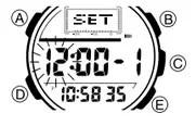How to set alarm on Casio ProTrek PAG-40