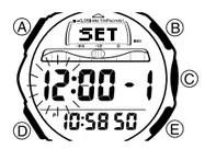 How to set alarm on Casio ProTrek SPF-40