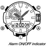 How to set alarm on Casio ProTrek PRW-6000