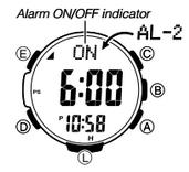 How to set alarm on Casio ProTrek PRW-3000