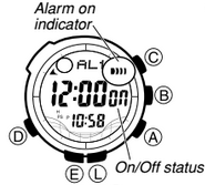 How to set alarm on Casio ProTrek PAW-1500