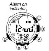 How to set alarm on Casio ProTrek PAW-1300