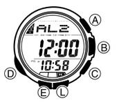 How to set alarm on Casio ProTrek PAW-1200