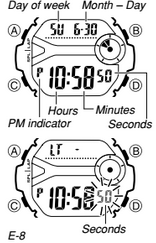 How to set time on Casio Baby-G BG-6903