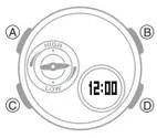 How to set alarm on Casio Baby-G BGA-180