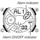 How to set alarm on Casio Baby-G BA-111