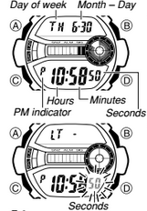 How to set time on Casio G-Shock GD-110