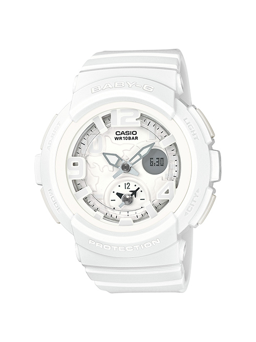 Baby-G BGA-190 Pastel Colors from Beach Traveler Series
