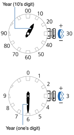 How to set time on Casio G-Shock MTG-G1000 / 5455