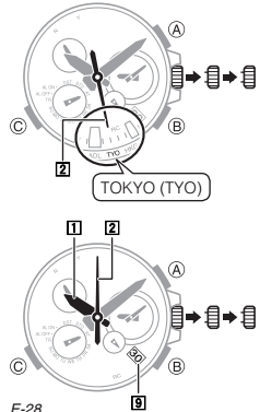 How to set time on Casio G-Shock MTG-S1000 / 5369