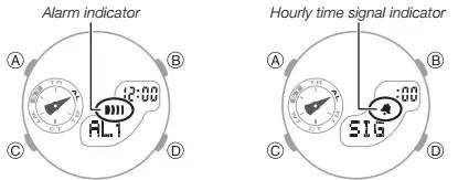 How to set alarm on Casio Baby-G BGA-185 / 5481