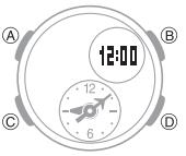 How to set alarm on Casio Baby-G BGA-190 / 5382