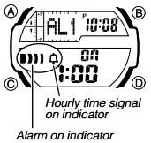How to set alarm on Casio SGW-450 / 5450