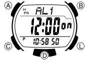 How to set alarm on Casio STL-S300 / 3440