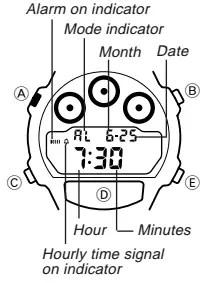 How to set alarm on Casio W-728 / 1534