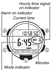 How to set alarm on Casio W-736 / 3446
