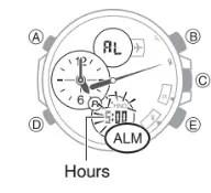 How to set alarm on Casio Edifice ECB-500 / 5427