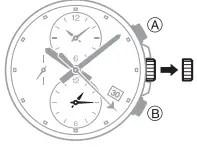 How to set alarm on Casio Edifice EFR-304 / 5468