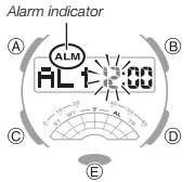 How to set alarm on Casio G-Shock GA-500 / 5478