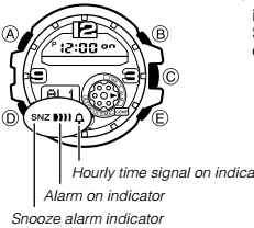 How to set alarm on Casio G-Shock GG-1000 / 5476