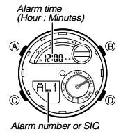 How to set alarm on Casio G-Shock GST-210 / 5475