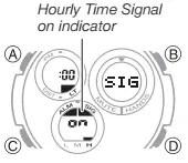 How to set alarm on Casio G-Shock GST-W110 / 5444