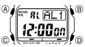 How to set alarm on Casio G-Shock GW-5510 / 3159
