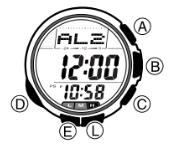 How to set alarm on Casio ProTrek PRG-80 / 2894