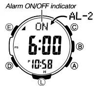 How to set alarm on Casio ProTrek PRW-3500 / 3414